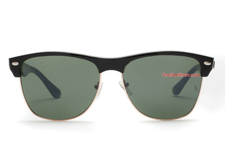 ffcfadce5f6 cheap Ray Ban sunglasses RB4175 Clubmaster Oversized Classic Black ...