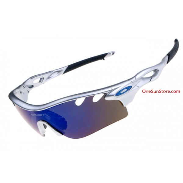 ce47f63f18 knock off Oakley radarLock path sunglasses silver   ice iridium ...