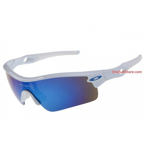 5270c852e0 fake Oakley Radar Path sunglass white   ice iridium sale