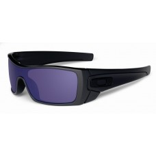Batwolf Matte Black Violet Iridium Sunglasses Newest