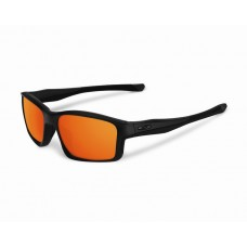 ChainLink Matte Black Fire Iridium Sunglasses Style