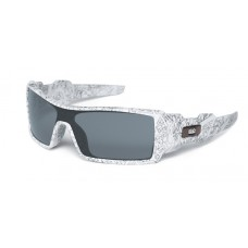 Oil Rig White Text Grey Sunglasses Collection