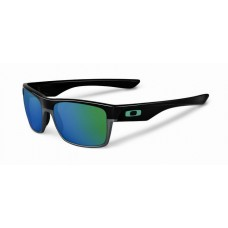 TwoFace Polished black Jade Iridium Sunglasses New Arrived