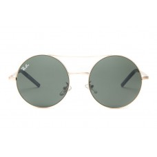 Ray Ban sunglasses RB3813 Round Metal Gold