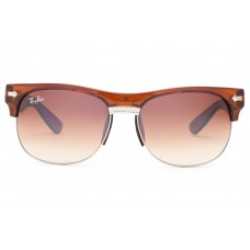 Ray Ban sunglasses RB20257 Clubmaster Oversized Flash Lenses Brown
