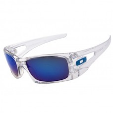 crankcase sunglass clear / ice iridium