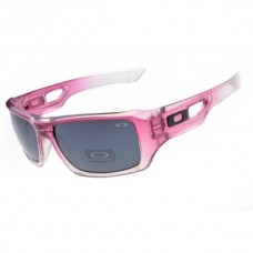 eyepatch 2 sunglasses clear pink / gray lens