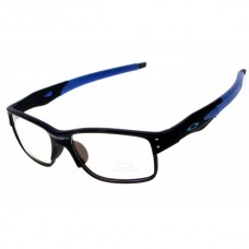 Crosslink sunglass black blue / clear lens