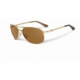 Given Polished Gold Bronze Polarized Sunglasses New Styles