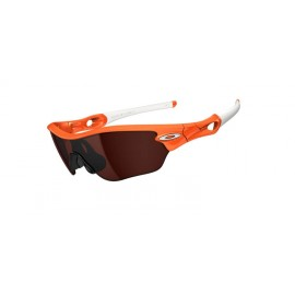 Radar Edge Orange Flare Black Iridium Sunglasses Style