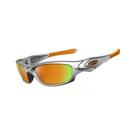 Straight Jacket Silver Fire Iridium Sunglasses New Styles