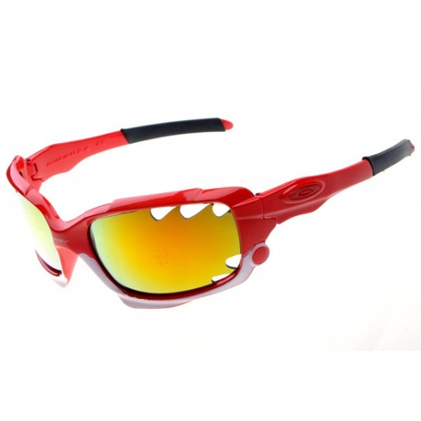 7875e4d0d7 fake Oakley Racing Jacket red sunglasses fire iridium