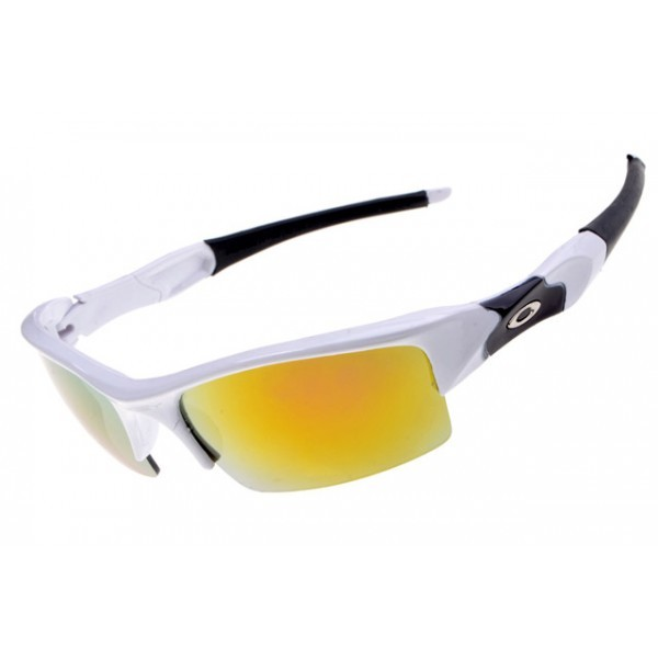 2933ec606b cheap Oakley flak jacket white   fire iridium sunglasses sale ...