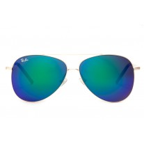 Ray Ban sunglasses RB3811 Aviator Gold