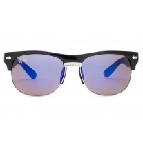 Ray Ban sunglasses RB20257 Clubmaster Oversized Flash Lenses Black