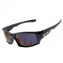 Ten polished black sunglasses dark blue lens