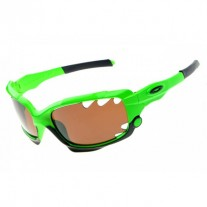 Racing Jacket sunglasses green / brown lens