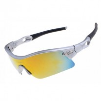 radar pitch sunglasses gray / ice iridium