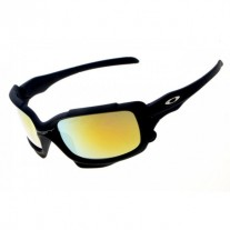 Split Jacket matte black / fire iridium sunglass