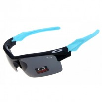 fast jacket black / blue / grey lens sunglass