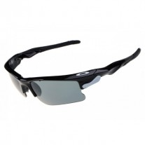 fast jacket polished black sunglass
