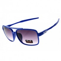 deviation sunglass polished blue / gray lens