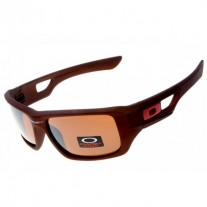 eyepatch 2 sunglass matte brown / persimmon iridium