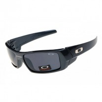 Gascan sunglasses polished black / black lens