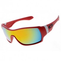 red Offshoot sunglasses fire iridium