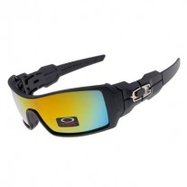 Oil Rig sunglasses black / fire iridium