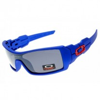 Oil Rig sunglasses polished blue
