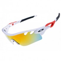 radarLock path sunglass white red sale