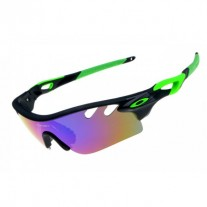 radarLock path sunglasses black green / ice iridium