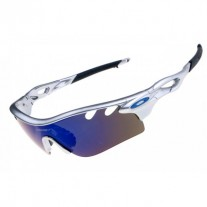 radarLock path sunglasses silver / ice iridium