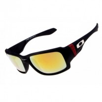 big taco sunglasses matte black / fire iridium