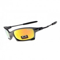 X Squared sunglasses grey / fire iridium