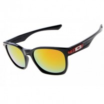 Garage Rock sunglasses black / fire iridium