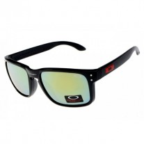 Holbrook sunglasses black / jade iridium