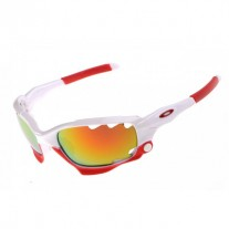 Racing Jacket white red  frame sunglasses