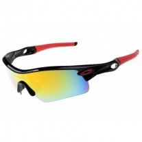 Radar Path sunglasses black / fire iridium