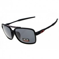 Deviation sunglasses matte black frame gray iridium lens