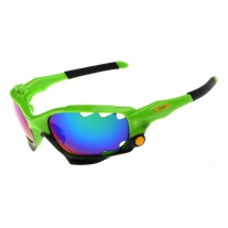 Racing Jacket sunglasses green / positive red iridium