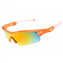 Radar Path sunglasses polished orange / fire iridium