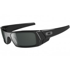 GasCan Polished Black Grey Sunglasses Style