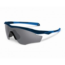 M2 Polished Navy Grey Polarized Sunglasses New