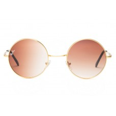 Ray Ban sunglasses RB3088 Round Metal Gold