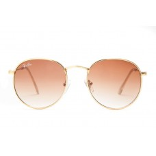 Ray Ban sunglasses RB3089 Round Metal Gold