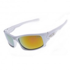 Ten sunglasses white frame fire iridium lens