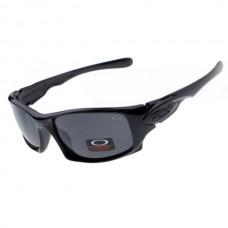 Ten sunglasses polished black frame gray iridium lens