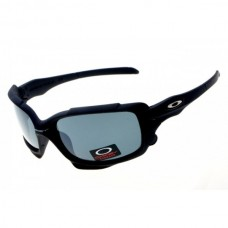 Split Jacket sunglasses matte black frame gray iridium lens